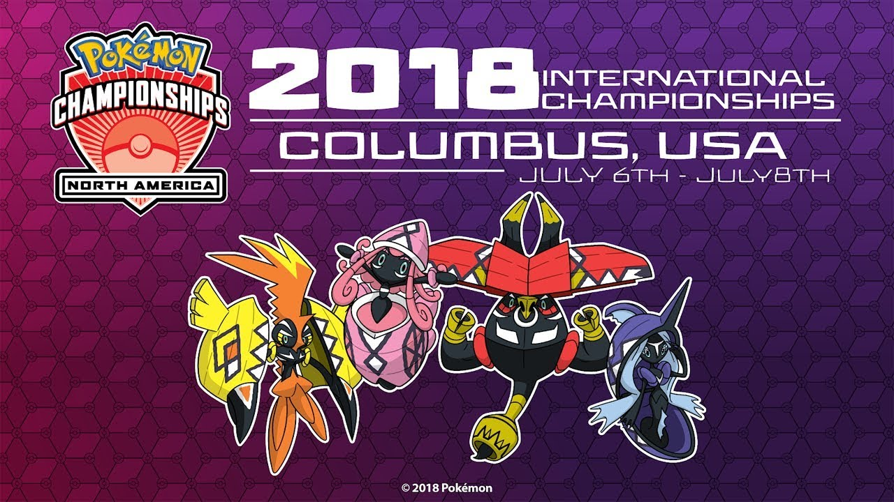 International Pokemon de Norte América 2018