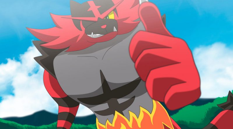 Incineroar VGC 2019 Sun Series