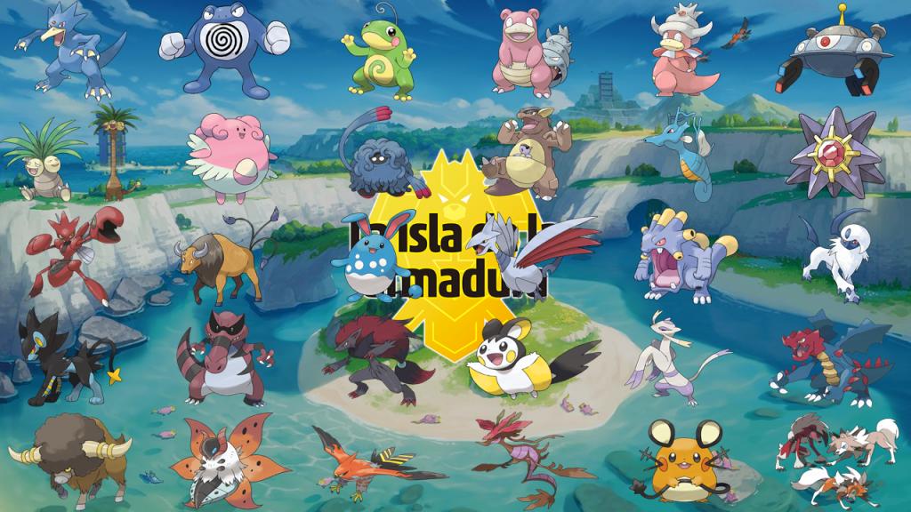 Todos los Pokémon de Isla de la Armadura Pokémon Espada y Escudo DLC