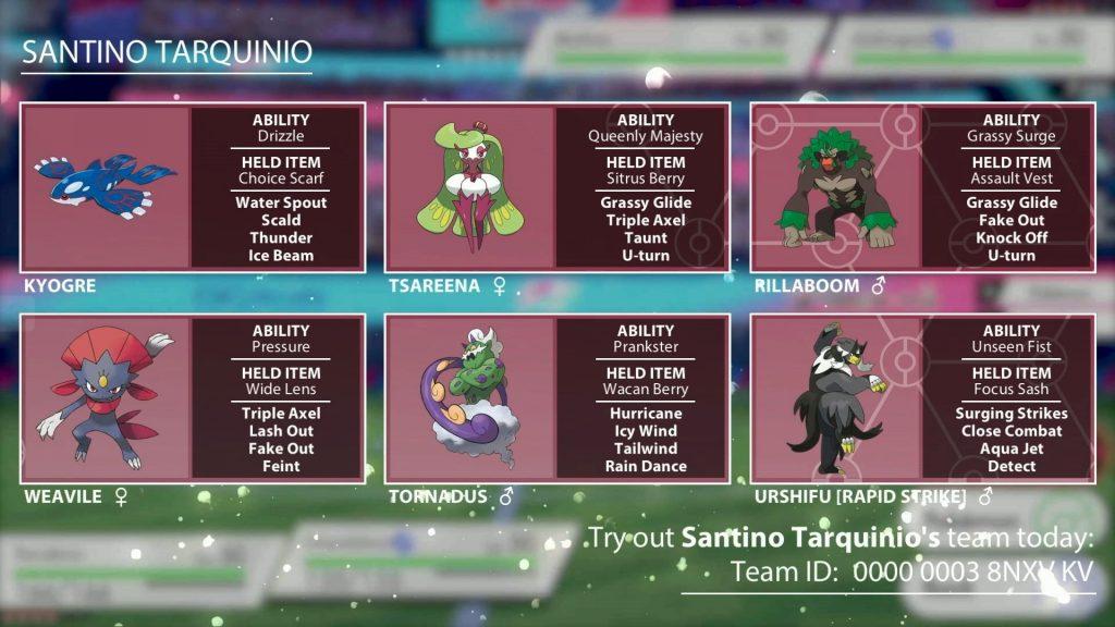 Team Players Cup Santino Tarquinio