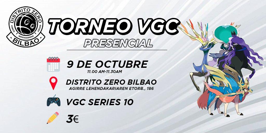 Torneo VGC Series 10 presencial Bilbao
